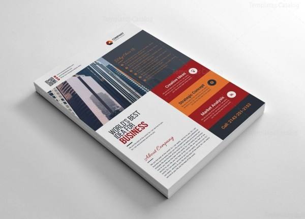 Simple Company Flyers Design