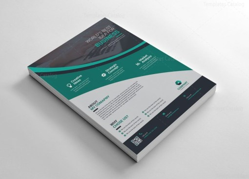 Simple Corporate Flyers Graphic