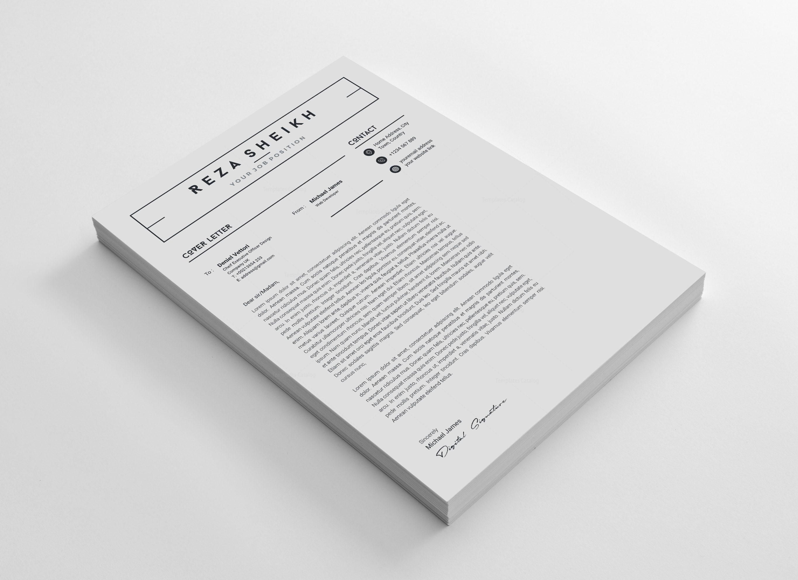 Standard Resume Design