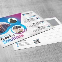 Creative Postcard Design