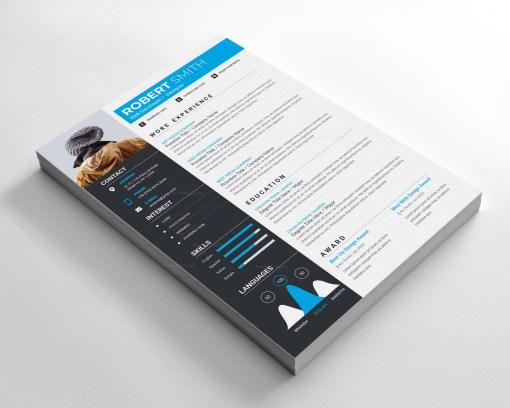 Easy Modern Resume Design