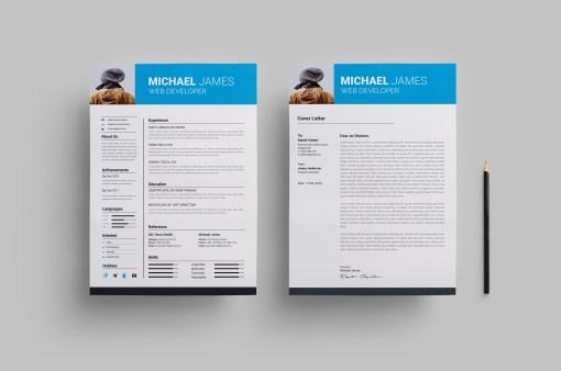 Standard Modern Resume Design