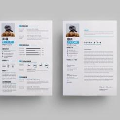 Clean Stylish Resume Design