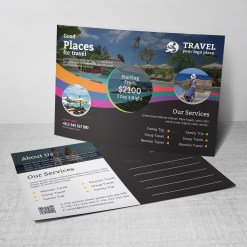 Travel Postcard Design