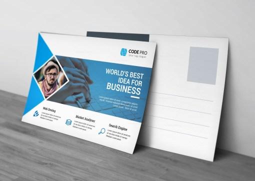 Creative Business Postcard