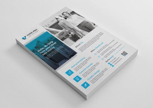 Gold Business Flyer Designs