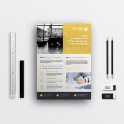Simple Corporate Flyer Designs