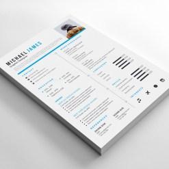 Classical Resume Design