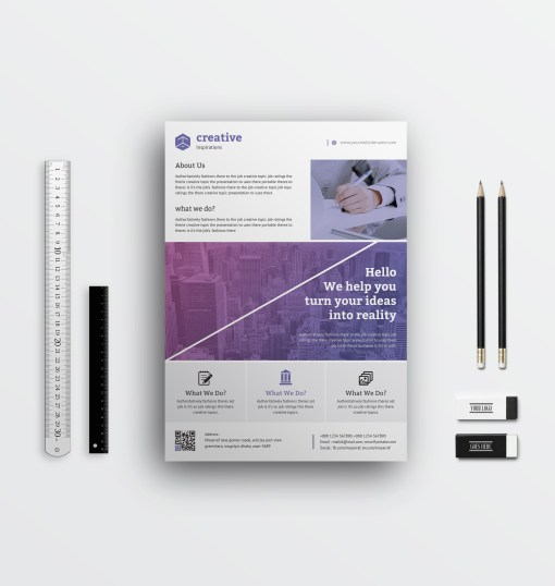 Corporate Creative Flyers Designs