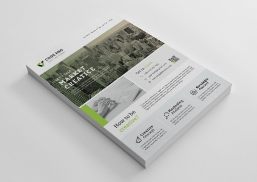 Creative Company Flyer Templates