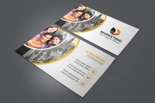 Marketing PSD Business Card