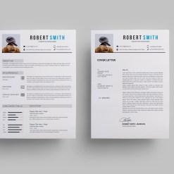 Minimalist Creative CV Design