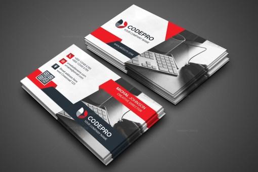 Office PSD Business Card