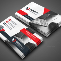 Office PSD Business Card