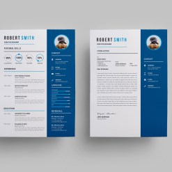 Printable Creative Resume Design