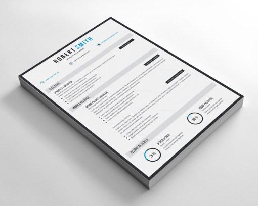 Vector Modern CV Design