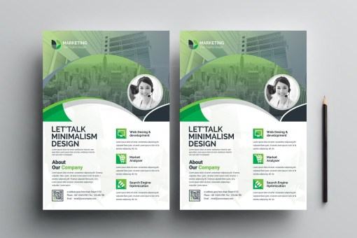 PSD Creative Flyer Templates