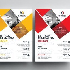 PSD Elegant Flyer Templates