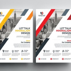PSD Modern Flyer Templates