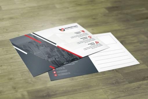 Classic PSD Postcard Design Templates