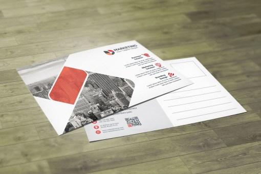 Corporate PSD Postcard Design Templates