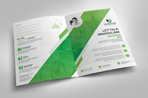 Minimal Presentation Folder Template