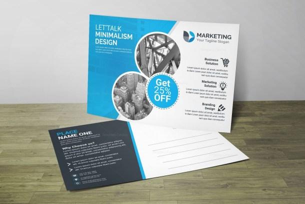 Top PSD Postcard Design Templates