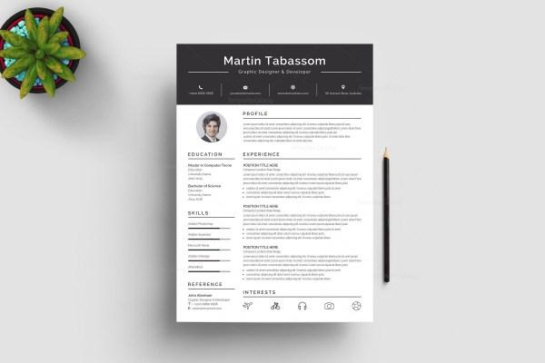 Premium Resume Template Archives Template Catalog