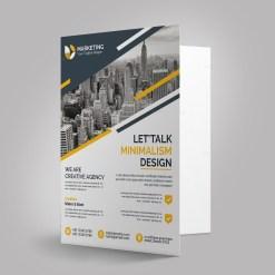 Modern Presentation Folder Templates