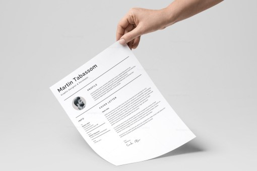 Simple Resume Design Template