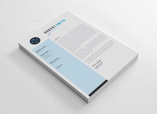A4 Clean Resume Template