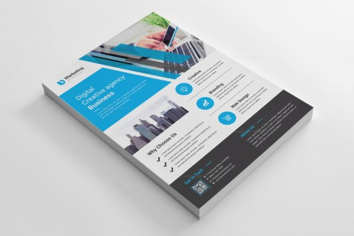 A4 PSD Flyer Templates