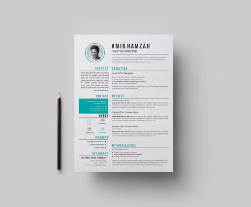 EPS Creative CV Template