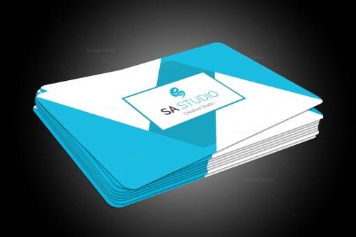EPS Geometric Name Card Templates