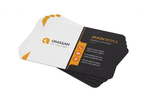 PSD Minimalist Business Cards