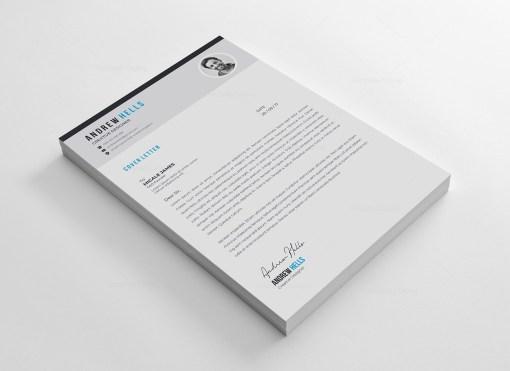 Vector Resume CV Design