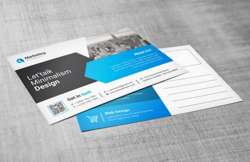 PSD Postcard Design Templates