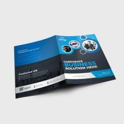 EPS Presentation Folder Design