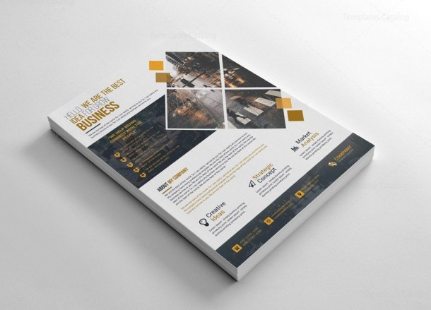 Business Stylish Flyer Templates