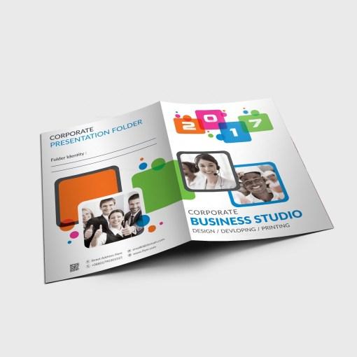 EPS Elegant Corporate Folder Template