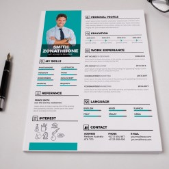 Professional Resume CV Design Template