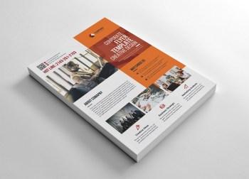 Marketing Flyer Template Design