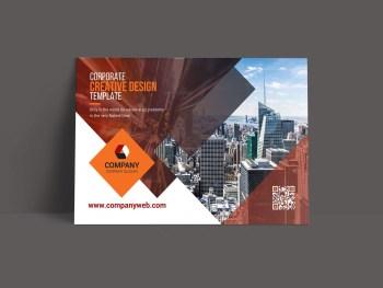 Corporate Postcard Templates