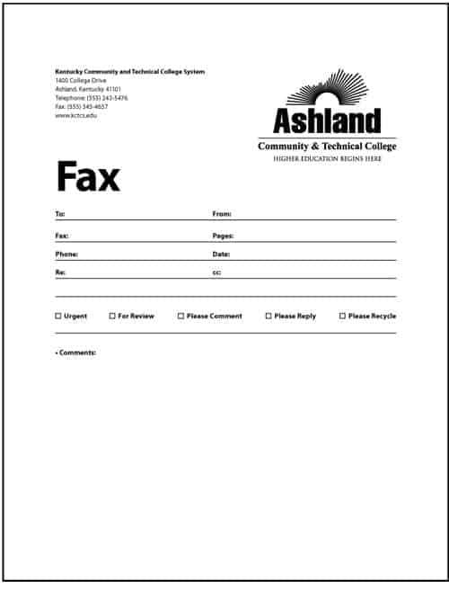 Best Fax Cover Sheet To Print Pictures - Best Resume Examples For