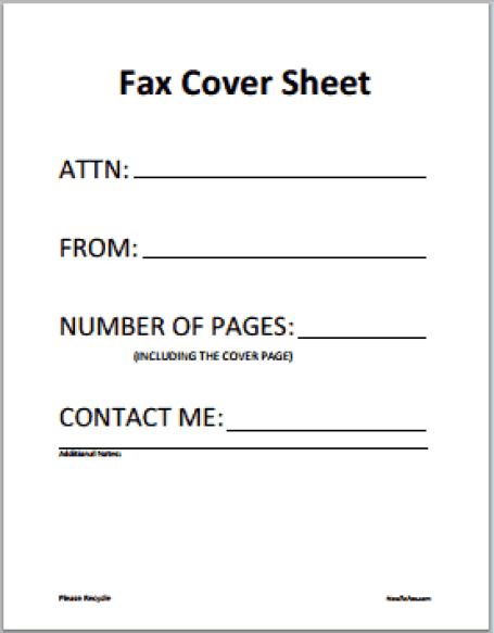 Fax Word sample 12.4