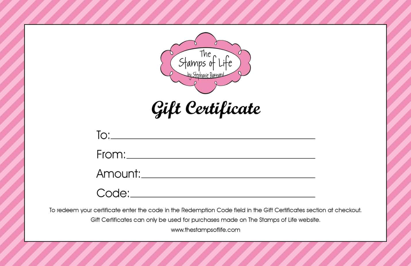 sample gift vouchers templates