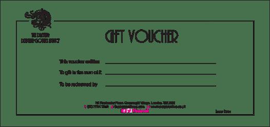 Gift Voucher sample 17.41