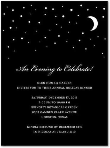 Party Invitation example 9941