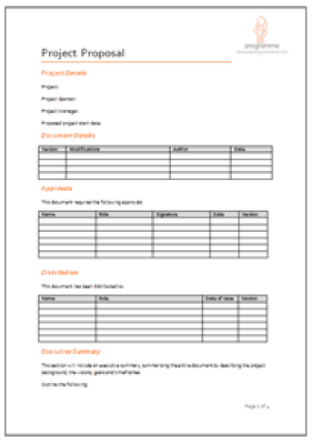 Project Proposal sample 3641