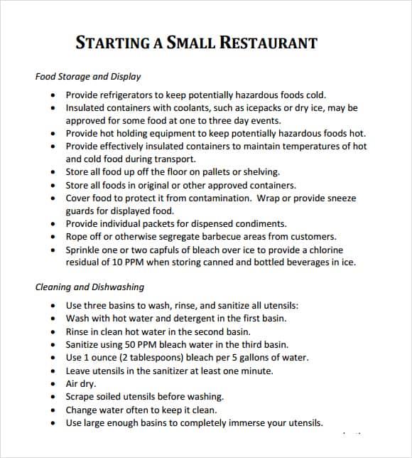 Sample business plan for restaurant pdf boatremyeaton sample business plan for restaurant pdf flashek Gallery